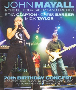 John Mayall & The Bluesbreakers and Friends: Eric Clapton, Chris Barber, Mick Taylor: 70th Birthday Concert (2003) - Blu-Ray