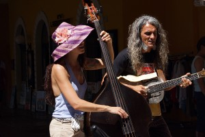 Reverend & The Lady (Mauro Ferrarese und Alessandra Cecala) in Malcesine Juni 2012 (Bild 2)