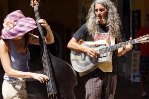 Reverend & The Lady (Mauro Ferrarese und Alessandra Cecala) in Malcesine Juni 2012 (Bild 4)