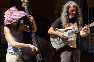 Reverend & The Lady (Mauro Ferrarese und Alessandra Cecala) in Malcesine Juni 2012 (Bild 5)