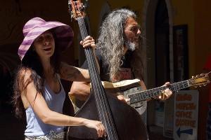 Reverend & The Lady (Mauro Ferrarese und Alessandra Cecala) in Malcesine Juni 2012 (Bild 6)