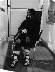 Smith, Patti: Banga (2012): Patti Smith auf der Costa Concordia - Bookletimage 1