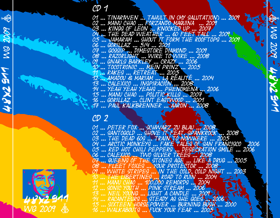 48 x 2911 - CD-Cover Rückseite (2009)