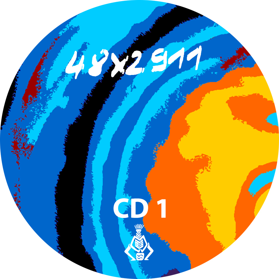 48 x 2911 - CD-Label CD 1 (2009)