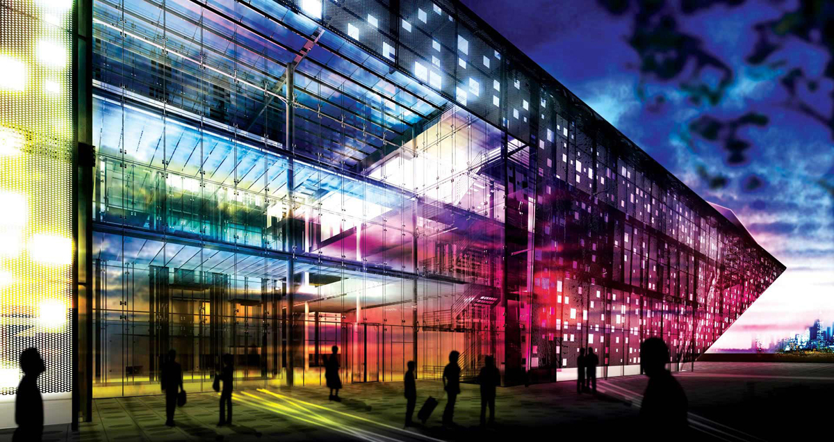 Helmut Jahn: NWSOM - Northwestern University Performing Arts Building: Chicago 2008