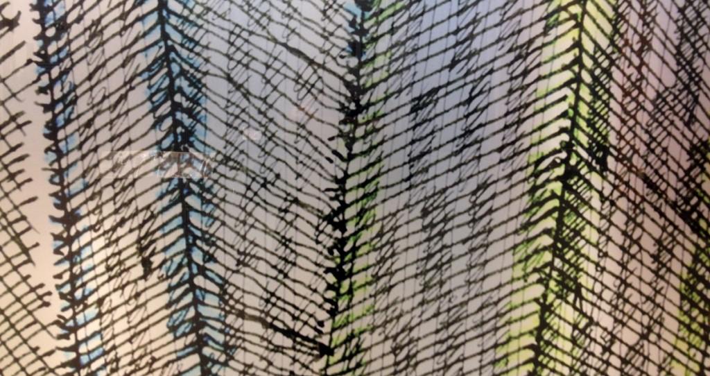 Helmut Jahn: Veer Towers Skizze