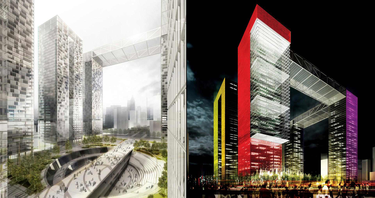 Helmut Jahn: Financial Center: Nanjing 2011