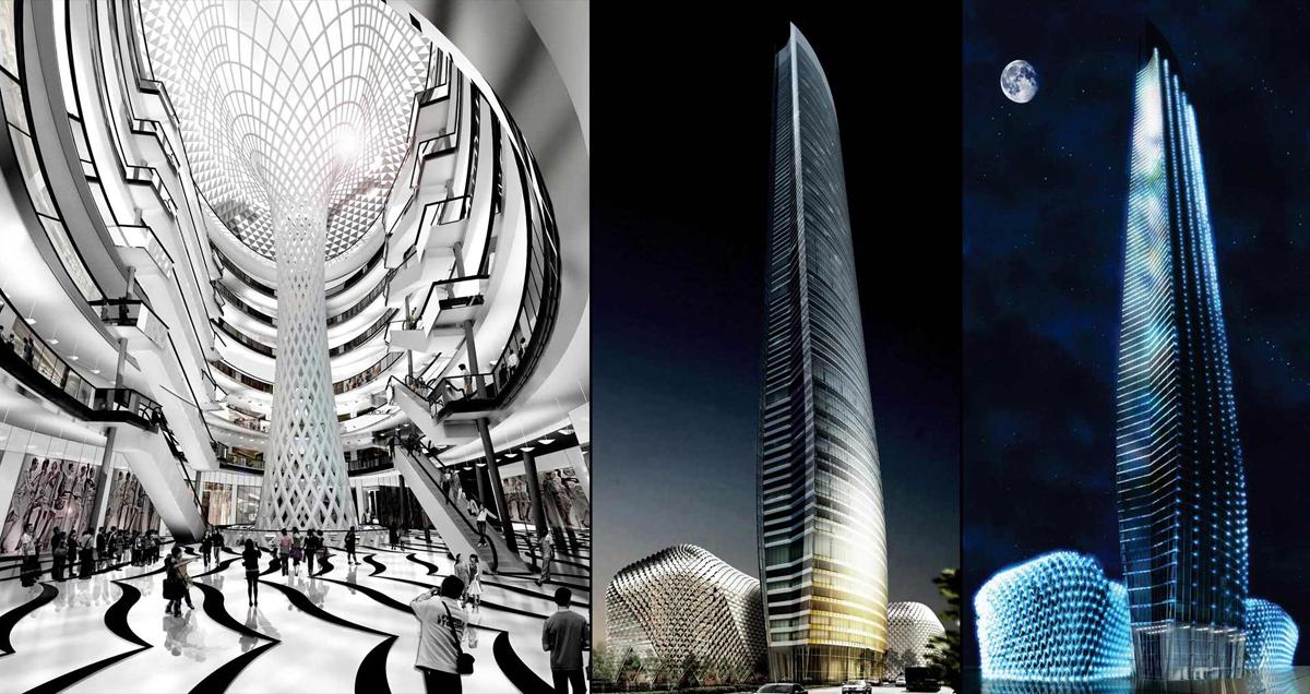 Helmut Jahn: Nanjing Tower: Nanjing 2009-2016