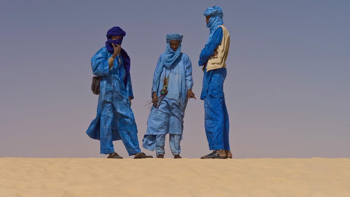 Touaregs at the Festival au Desert near Timbuktu, Mali 2012 (Foto: Alfred Weidinger, Wikipedia)