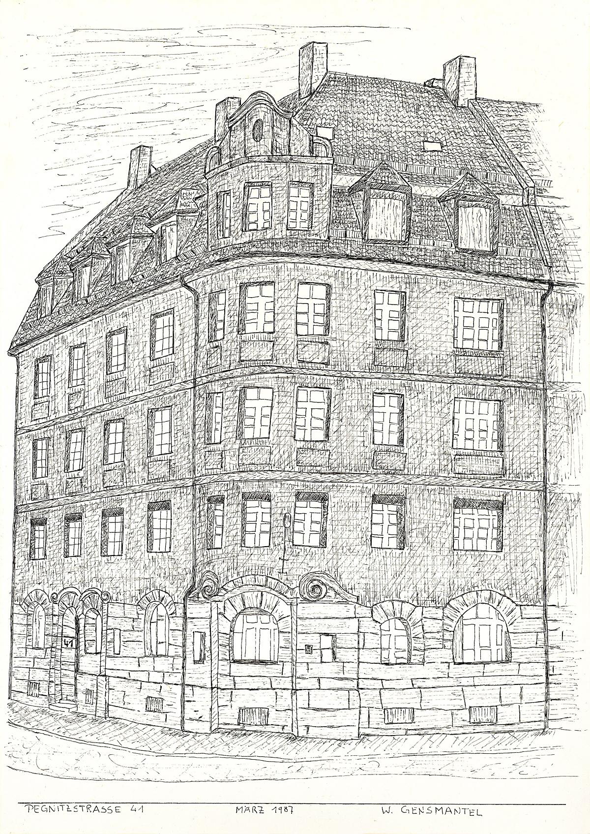 Fürth, Pegnitzstraße 41 (1987)