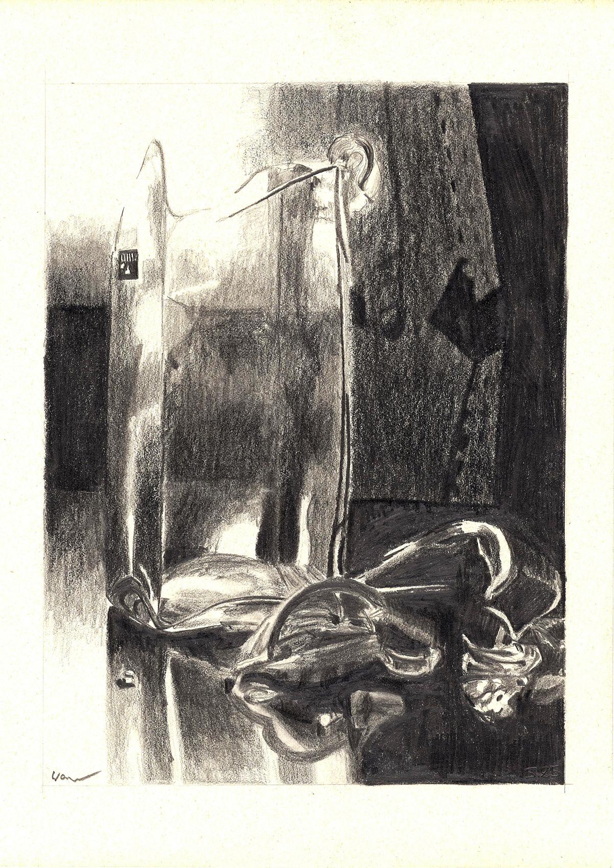 Zerbrochene Vase (1985)