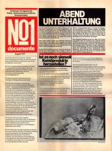 Abendunterhaltung: Ein Gespräch zwischen Joseph Beuys, Hamburger Journalisten und Wissenschaftlern am 5. März 1977