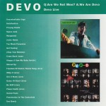 DEVO: Q: Are we not men? A: We are DEVO / DEVO Live (1993) (CD)