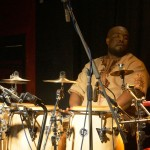 Ginger Baker's Jazz Confusion: Abass Dodoo in der Kofferfabrik Fürth am 2014-02-09