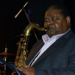 Ginger Baker's Jazz Confusion: Pee Wee Ellis in der Kofferfabrik Fürth am 2014-02-09