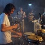 Jamaram: Murxen Alberti, Nik Thäle, Benni Beblo, Lionel Wharton, Peppi Beblo und Sam Hopf (v.l.): Live im Lux am 2014-03-21