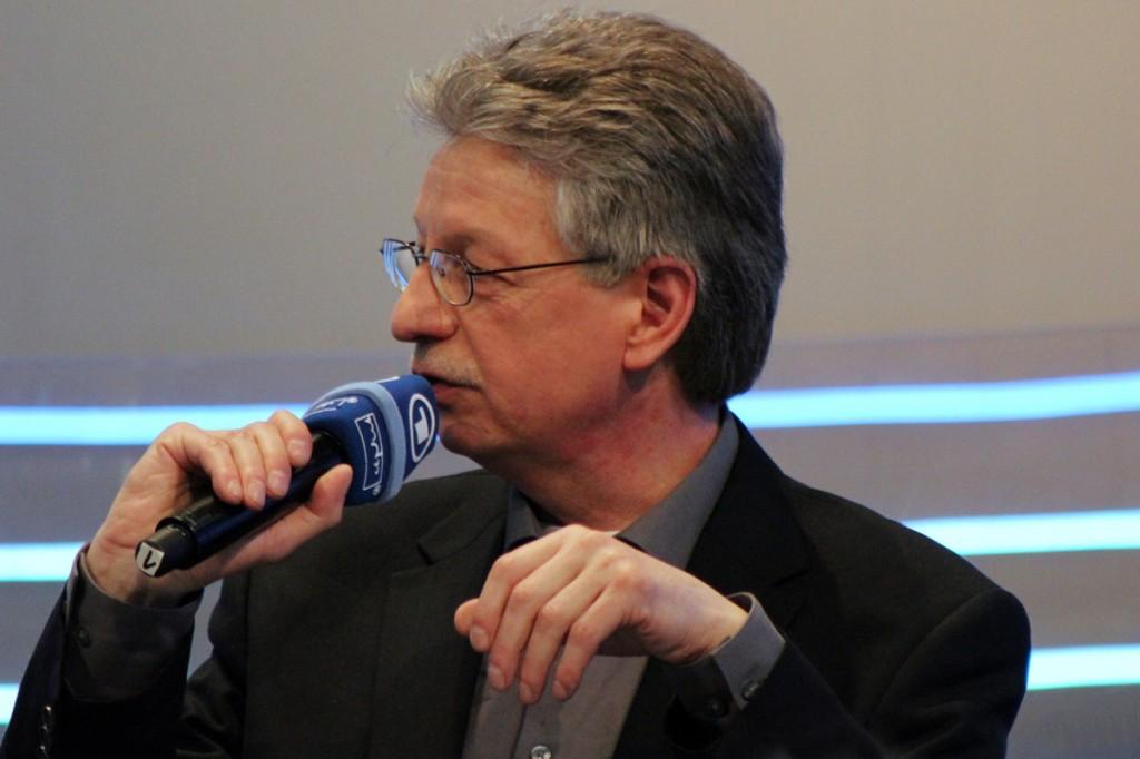 Reinhard Jirgl auf der Leipziger Buchmesse 2013