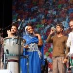 Aziza Brahim und Band: Bardentreffen 2014