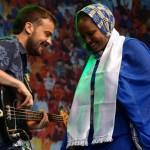 Aziza Brahim und Guillem Aguilar Nolis: Bardentreffen 2014