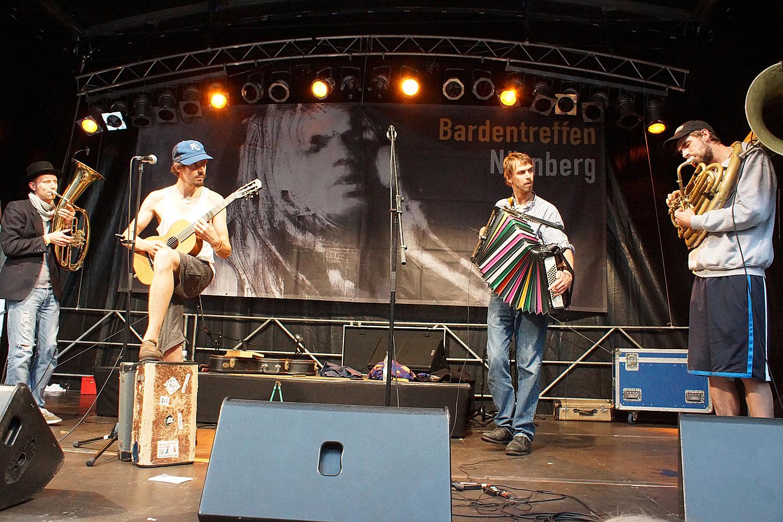 Kofelgschroa: Nürnberg Bardentreffen 2014