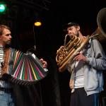 Maxi Pongratz und Martin von Mücke von Kofelgschroa: Nürnberg Bardentreffen 2014