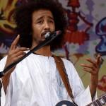 Ousmane Ag Mossa von Tamikrest: Nürnberg Bardentreffen 2014