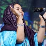 Wonou Walet Sidaty von Tamikrest in Nürnberg beim Bardentreffen 2014