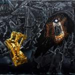 Immendorff, Jörg: Projekt Paulskirche. Versuch Adler zu werden (1987)
