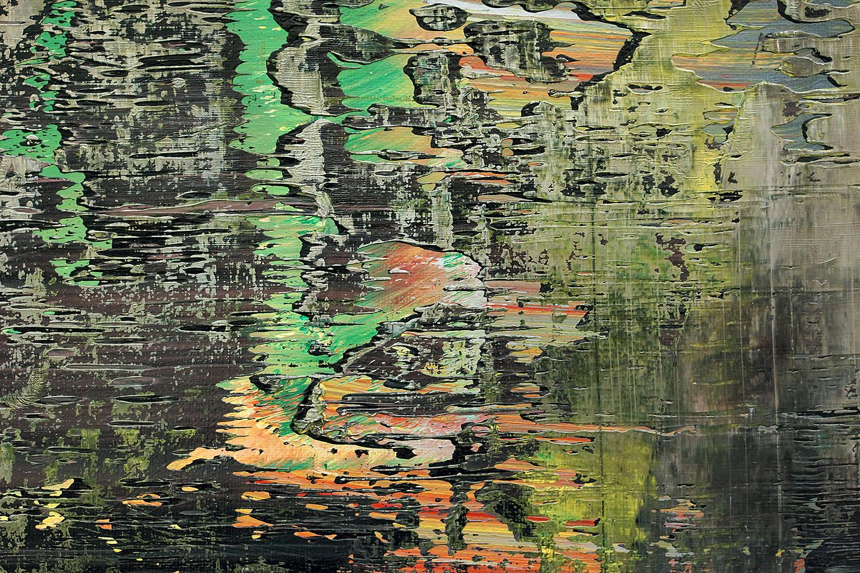 Richter, Gerhard: Abstraktes Bild (1988) - Ausschnitt 4