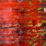 Richter, Gerhard: Abstraktes Bild (1991) - Ausschnitt 2