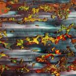 Richter, Gerhard: Abstraktes Bild (1991) - Ausschnitt 3