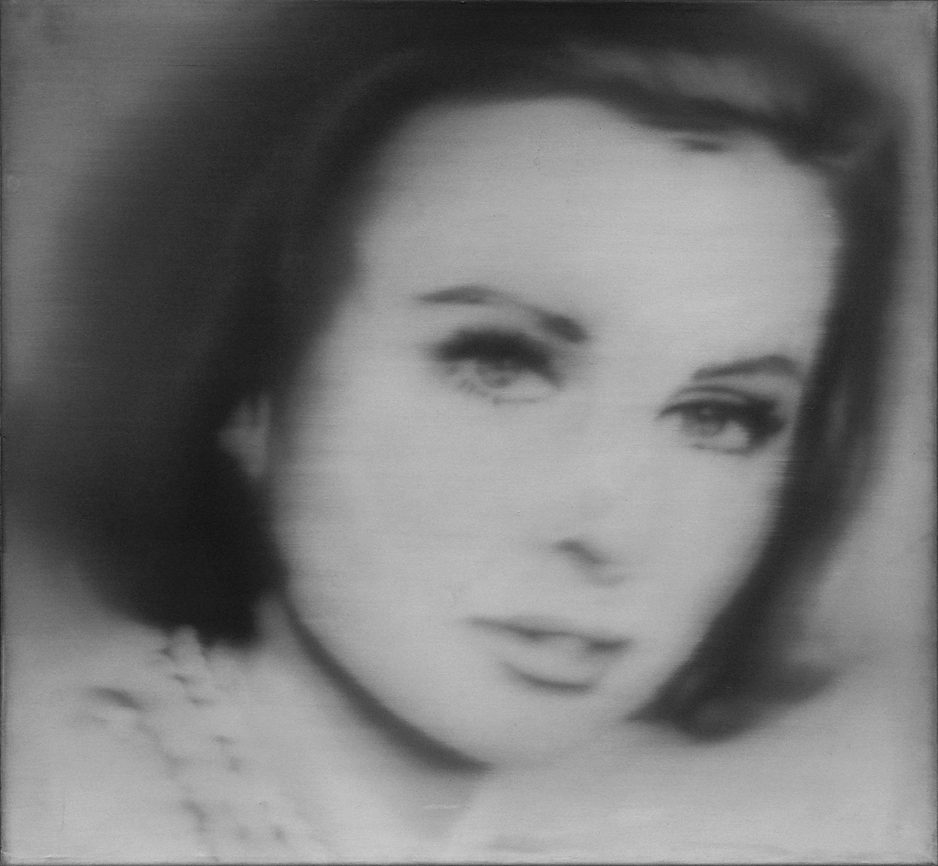 Richter, Gerhard: Portrait Liz Kertelge (1966)