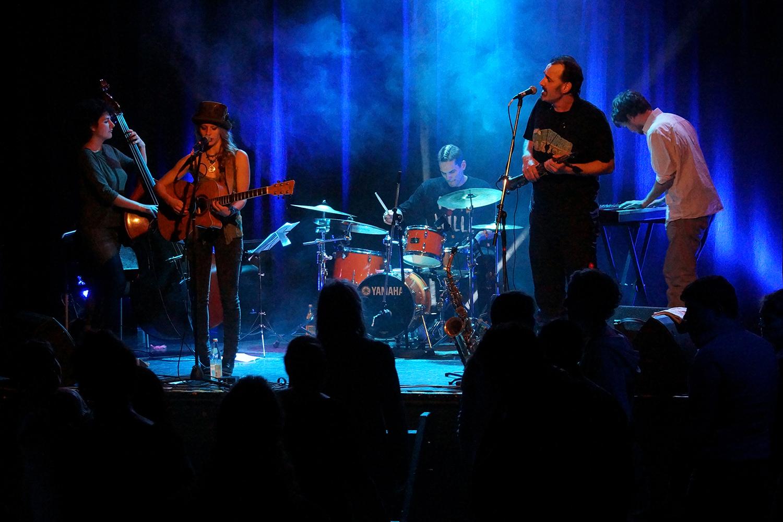 Cynthia Nickschas und Band: Rampenschweinerei Fürth 2014