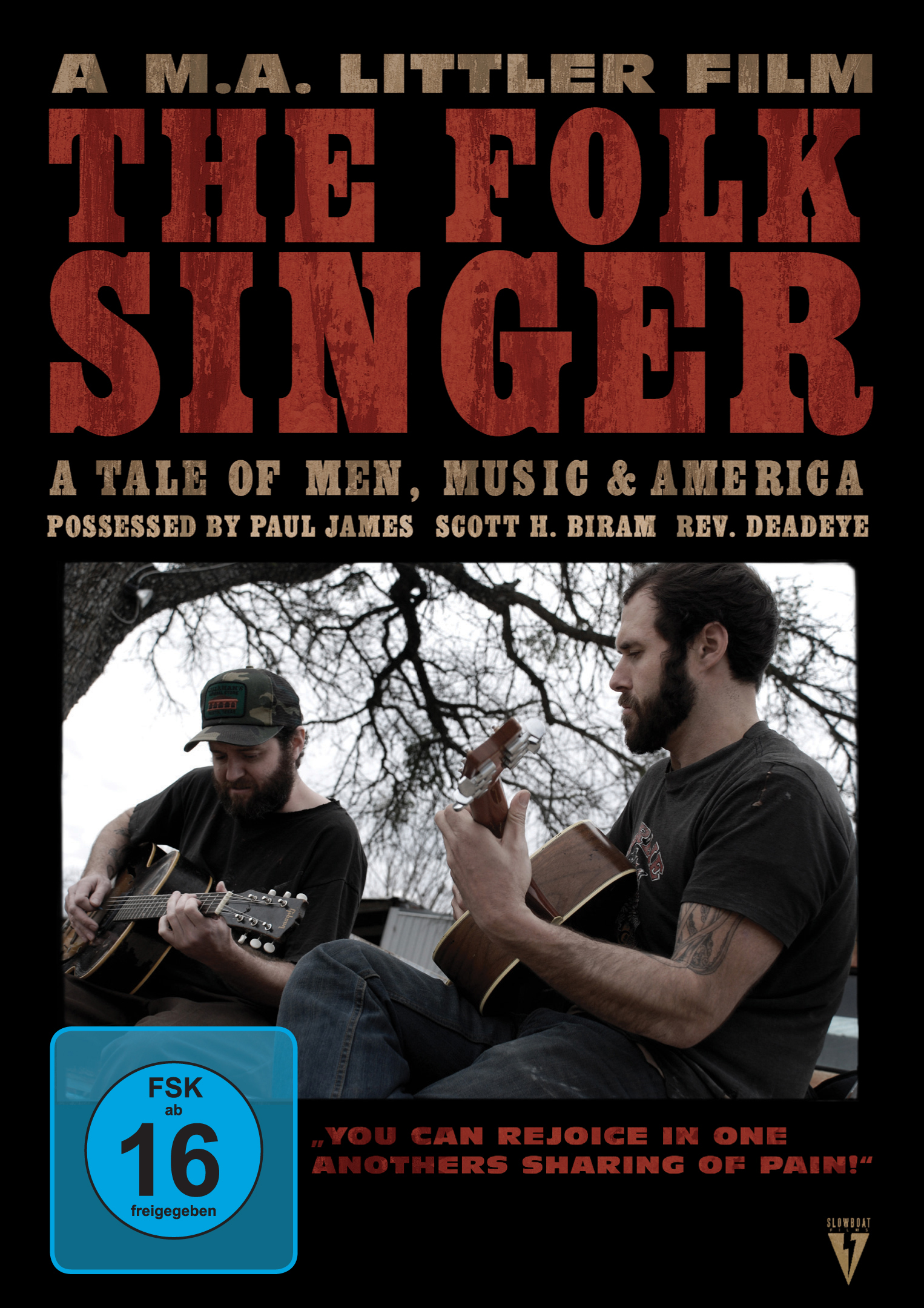 The Folk Singer – A Tale Of Men, Music and America (2008)