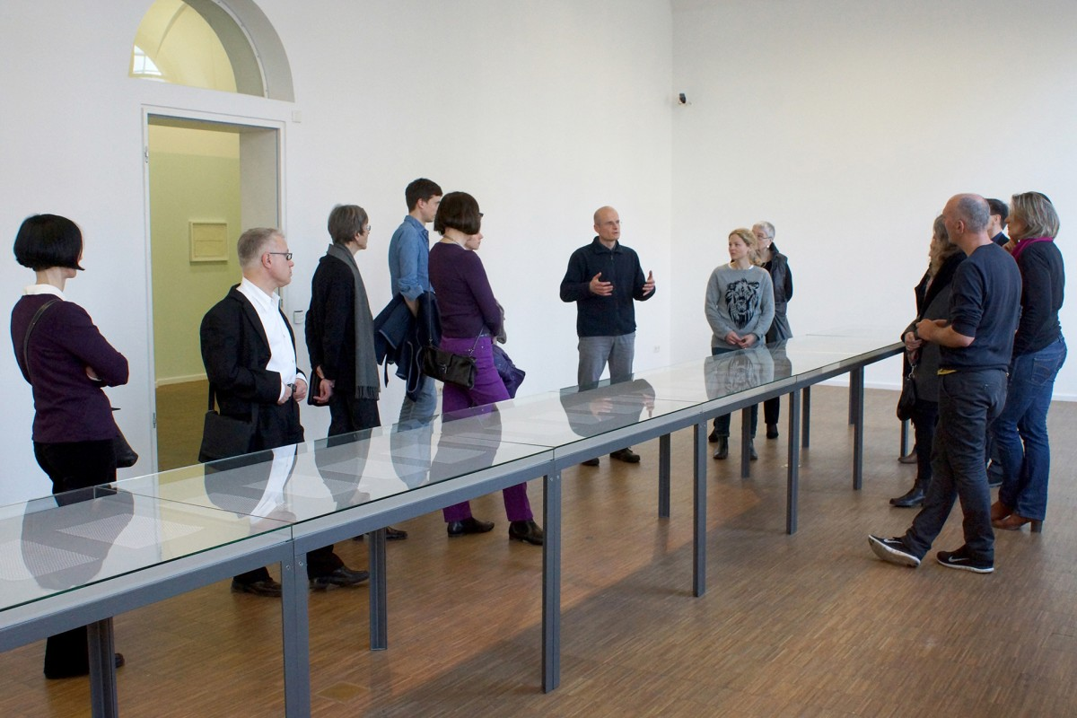 Jürgen Krause: Künstler im Gespräch – Kunsthaus Nürnberg (2015)