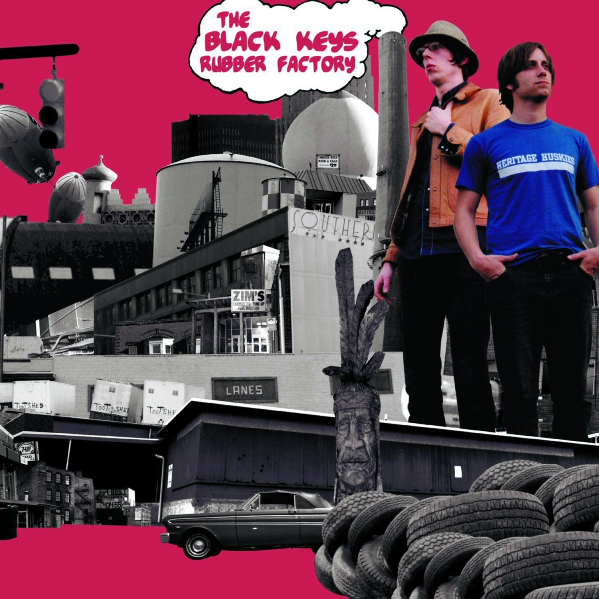 Black Keys: Rubber Factory (2004)