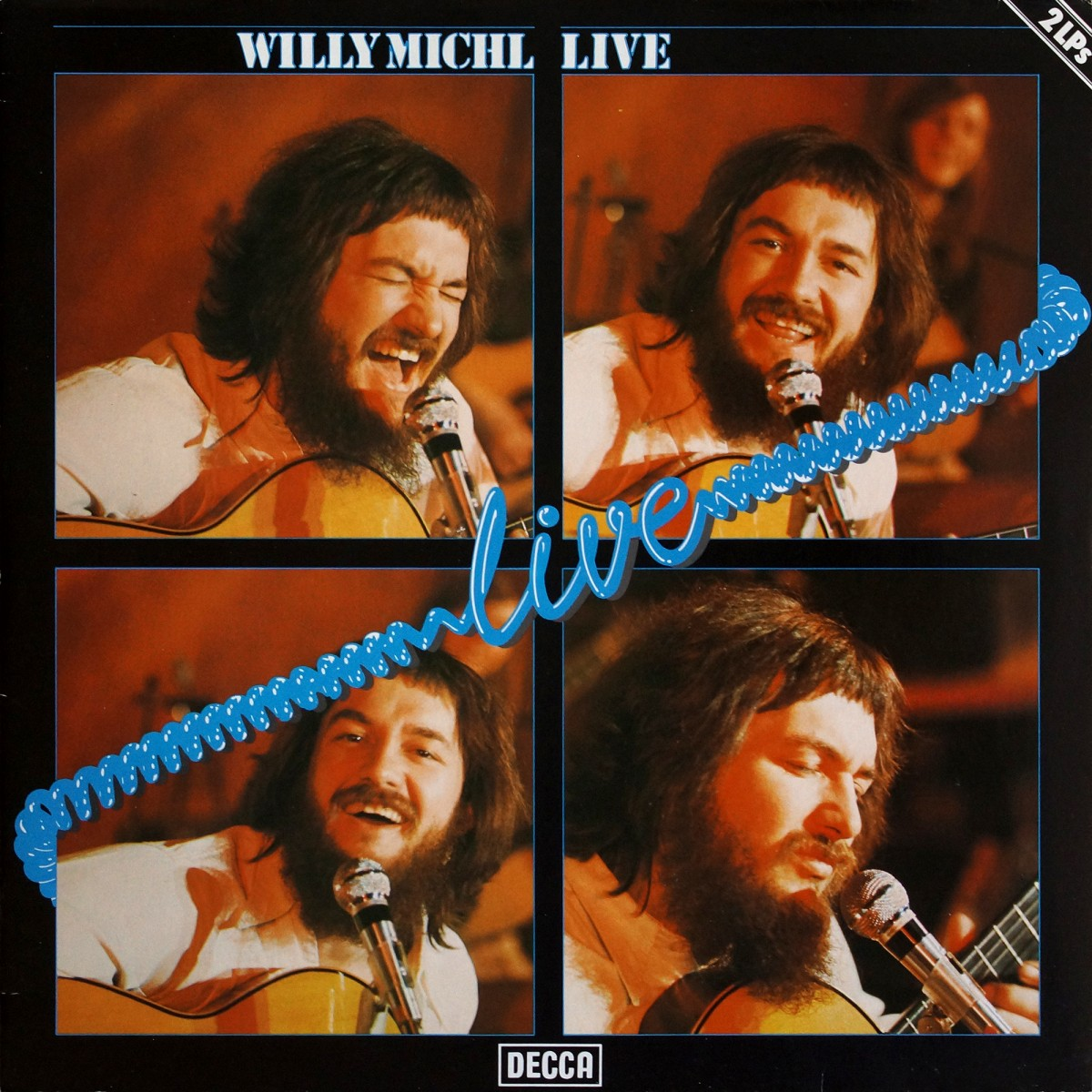 Michl, Willy: Live (1977)