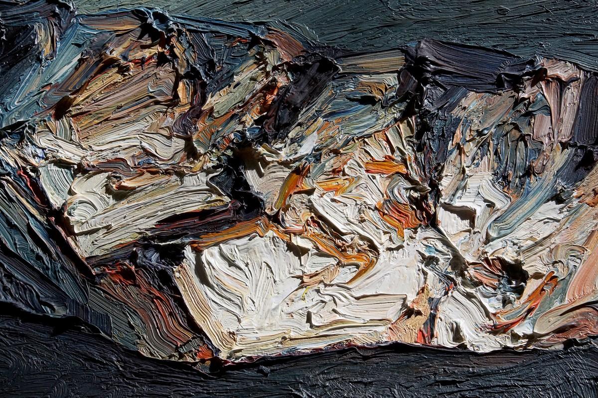 Ralph Fleck: Timan Faya, Lanzarote (Ausschnitt) (1997)