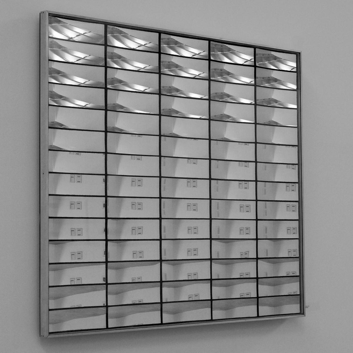 Adolf Luther: Spiegelobjekt (Seitenansicht) (1990er Jahre)