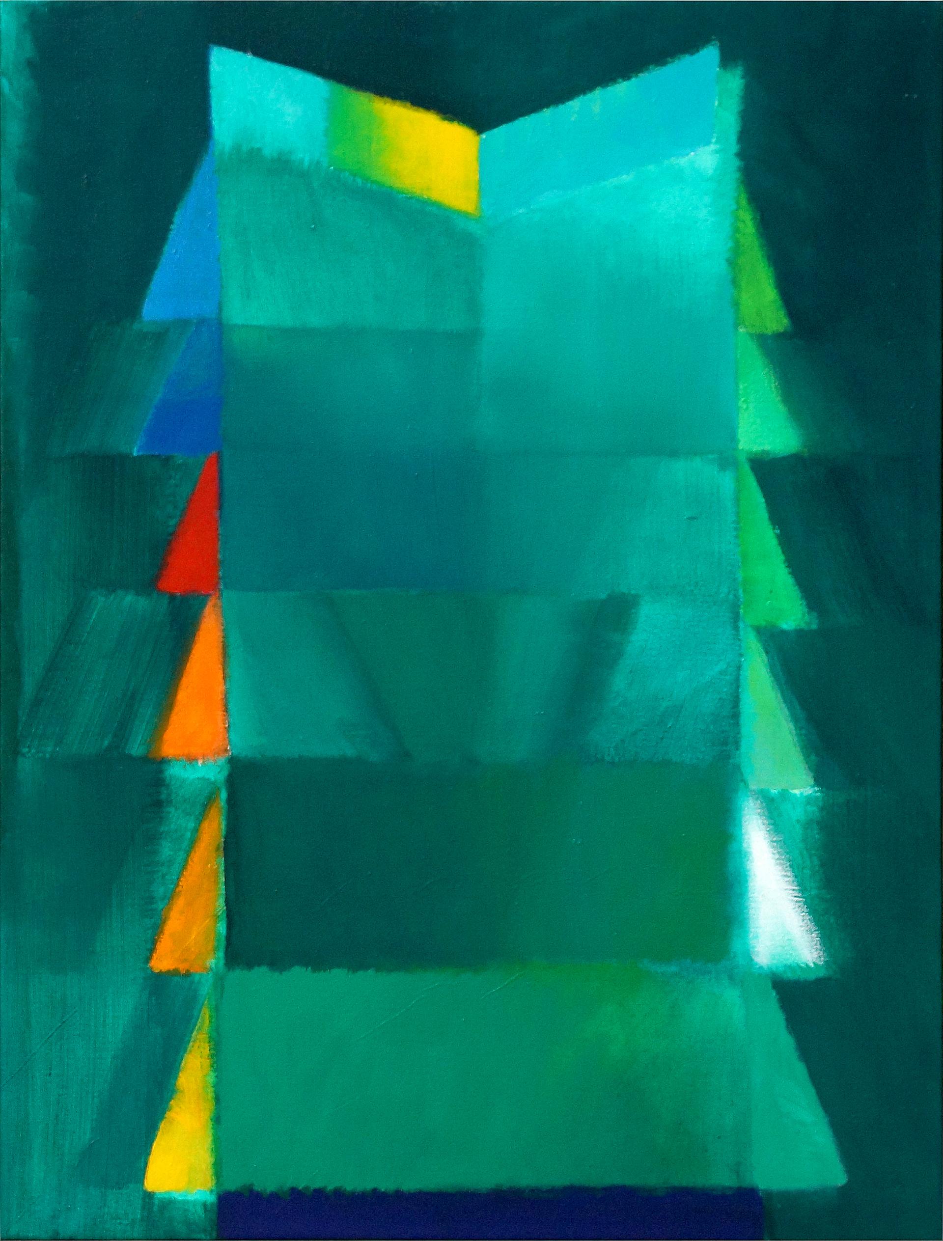 Heinz Mack: chromatische Konstellation (1994)