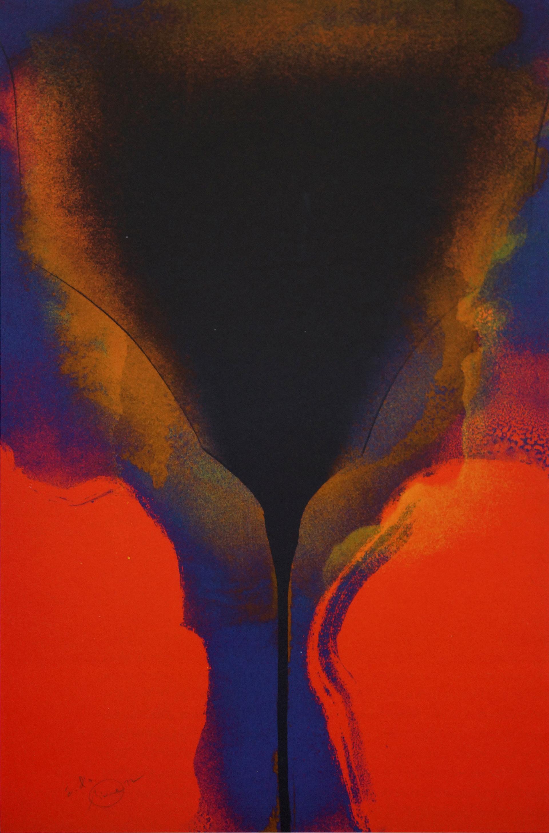 Otto Piene: Diptychon (1972)
