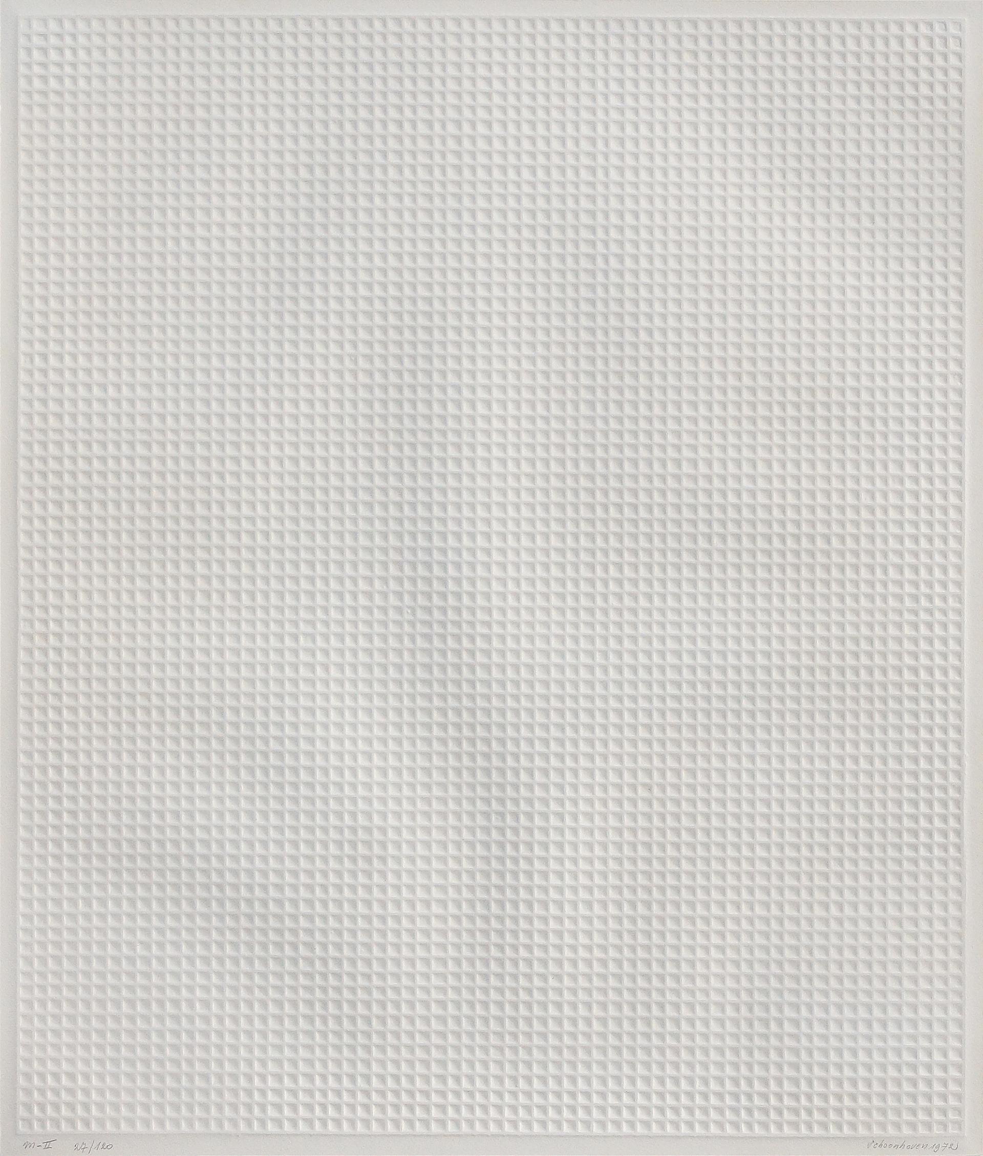 Jan Schoonhoven: ohne Titel (1972)