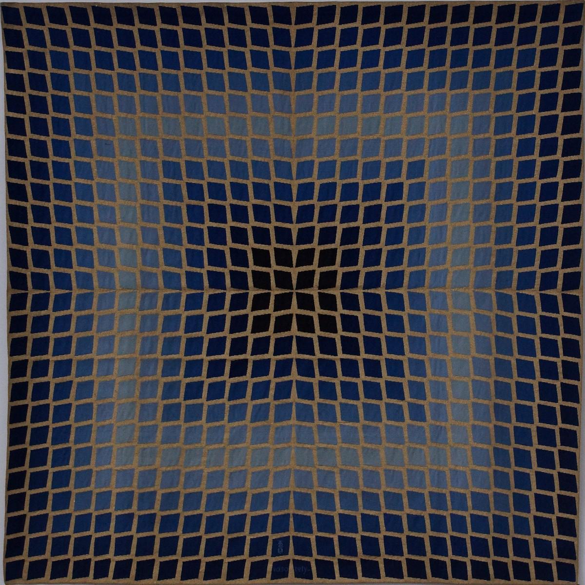 Victor Vasarely: Quasar (vermutlich 1974)