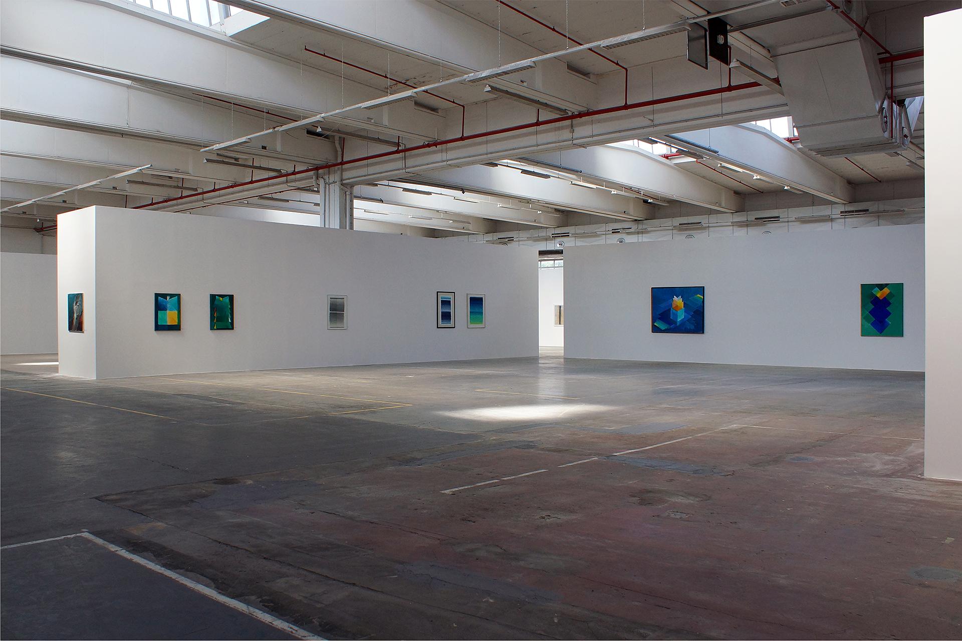 von ZERO an: eine 6000 qm große Industriehalle wurde zu einer spektakuären Kunsthalle umgebaut