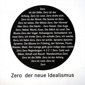 von ZERO an: Zero der neue Idealismus: Das Zero Manifest (1963)