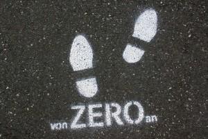 von ZERO an (Stencil) (2015)