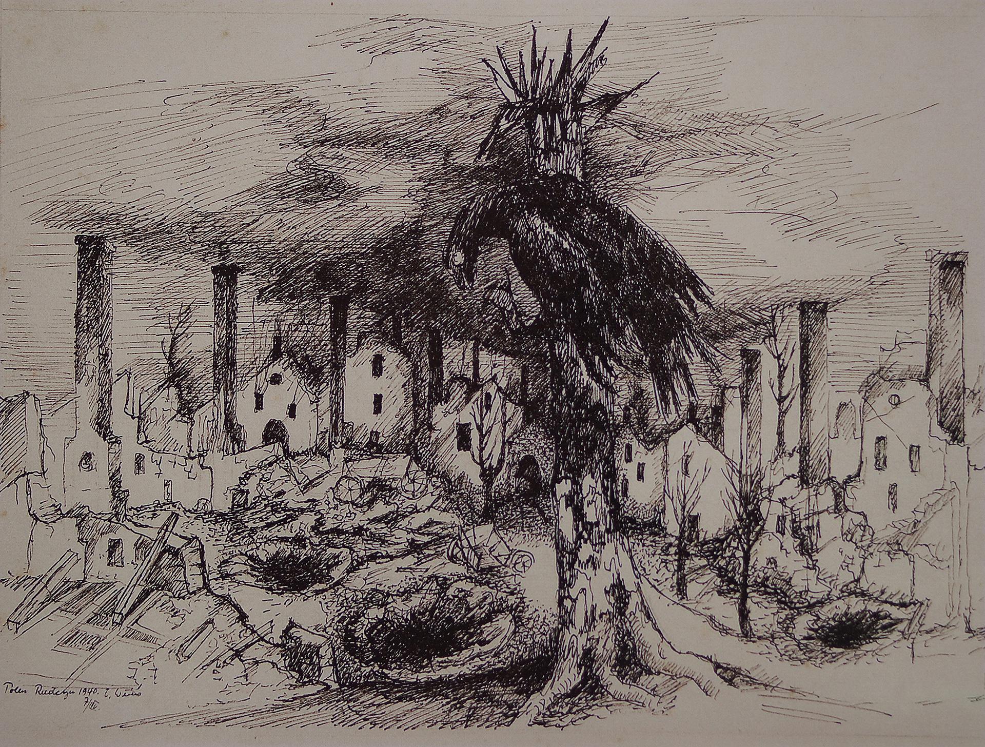 Ernst Weiers: Aasvogel (1940)