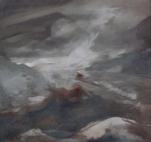 Ernst Weiers: Nebel in den Bergen (1977/1978)