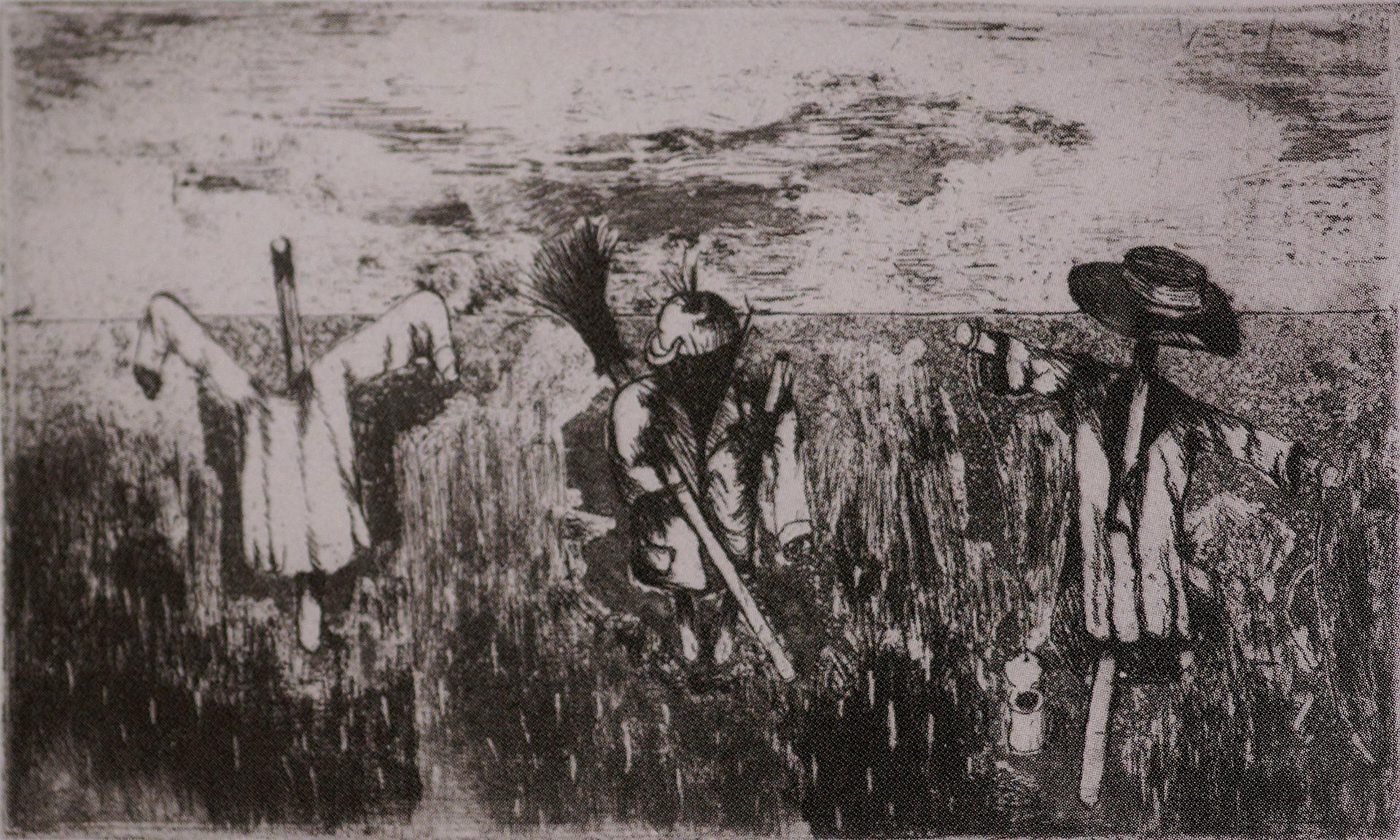 Ernst Weiers: Vogelscheuchen (1936)