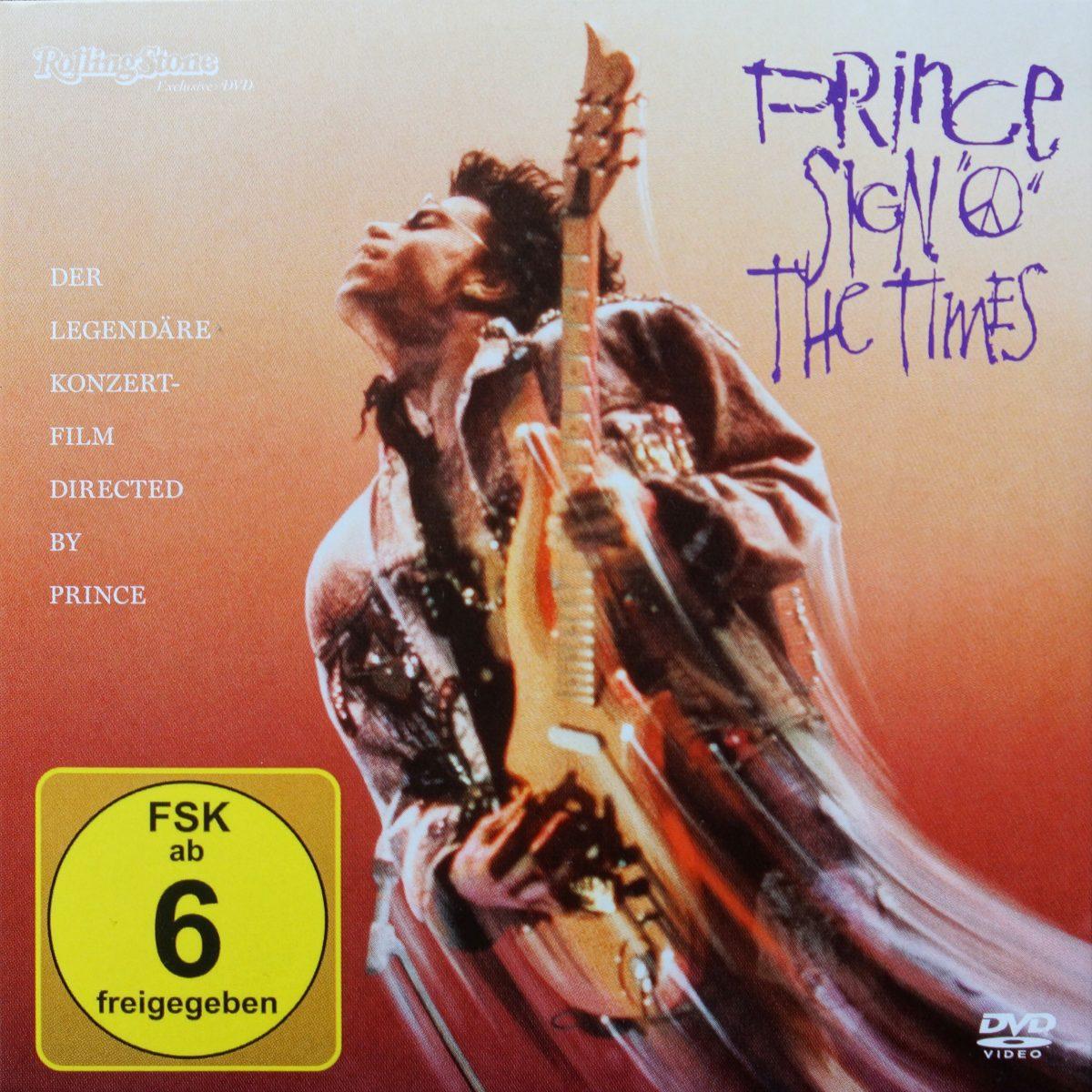 """Prince: Sign """"O"""" The Times (DVD) (2016)"""